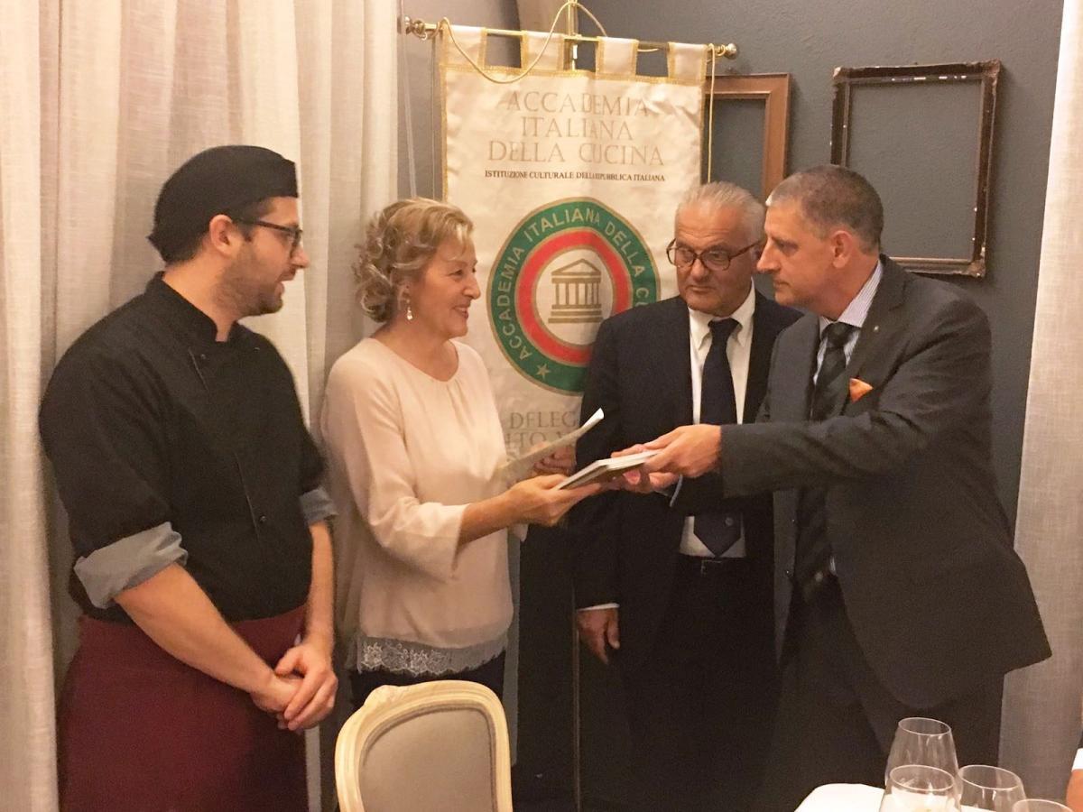 Civonline passaggio di campana all accademia italiana di cucina